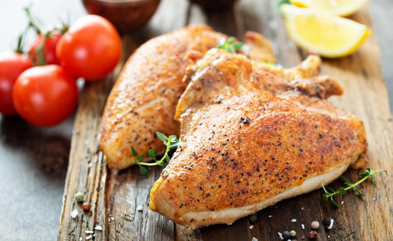 receita com peito de frango simples e rápido