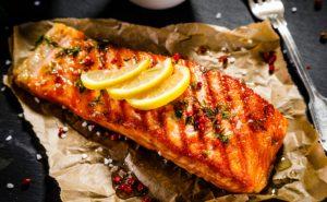 peixe vermelho assado