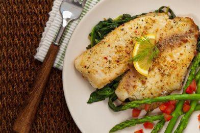 Receita de peixe no microondas simples
