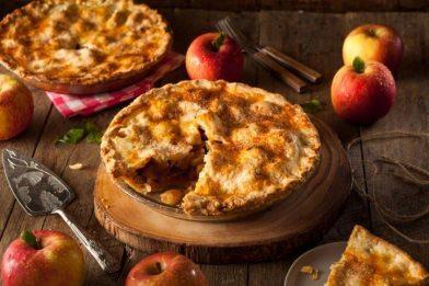 Torta de maçã fácil e rápida