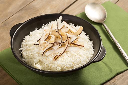 arroz com coco