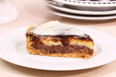 Deliciosa receita de torta de leite ninho trufada