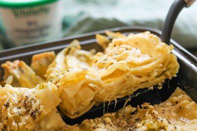 A melhor lasanha aos quatro queijos