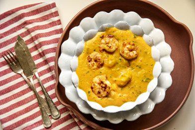 Bobó de camarão prático e delicioso