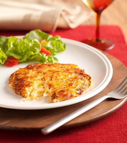 fritada de batata e salame