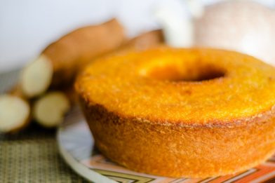 O melhor bolo de mandioca