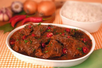 A mais deliciosa carne ligeira de panela