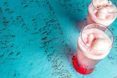 Clássica bebida chilena - delicioso Terremoto