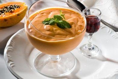 O melhor e mais delicioso creme de papaya caseiro