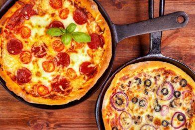 A mais gostosa pizza de frigideira