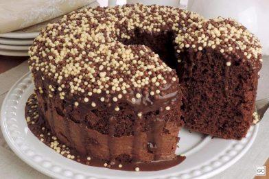 Receita de bolo nega maluca delicioso