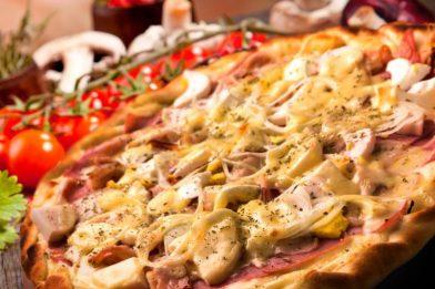 Clássica pizza portuguesa