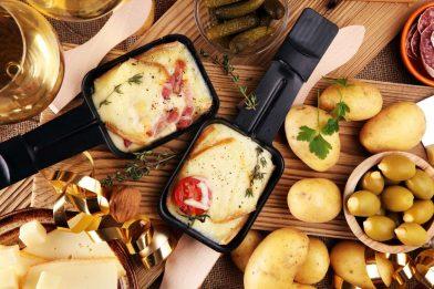 Receita caseira de raclette tradicional