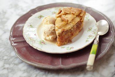 Deliciosa torta de maçã com canela