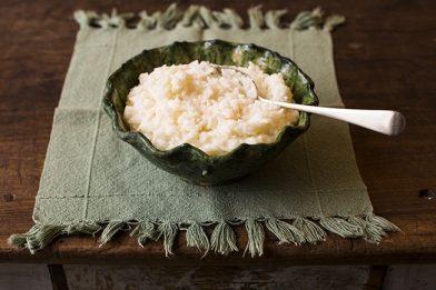 Receita de arroz de leite