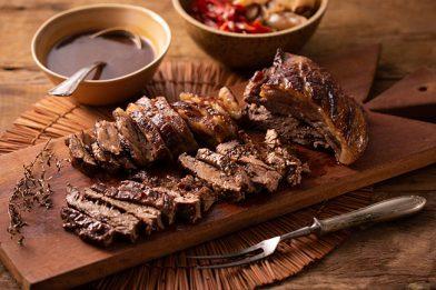A melhor carne assada na panela de pressão