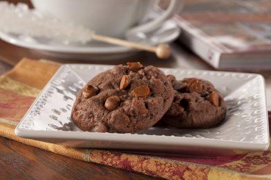 Receita simples de cookies de capuccino