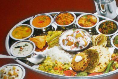 Receita deliciosa de Thali