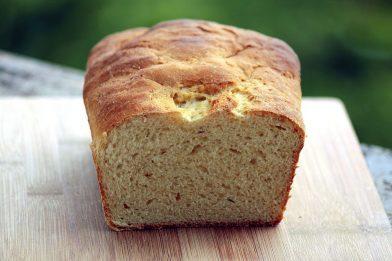 O melhor pão de fubá caseiro