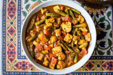Deliciosa receita picante indiana - Vindaloo