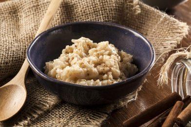 Simples e delicioso arroz doce cremoso diet