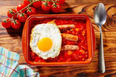 Legumes fritos espanhóis - Pisto