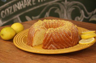 O melhor bolo de limão diet