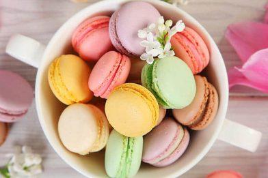 Os famosos Macarons passo a passo
