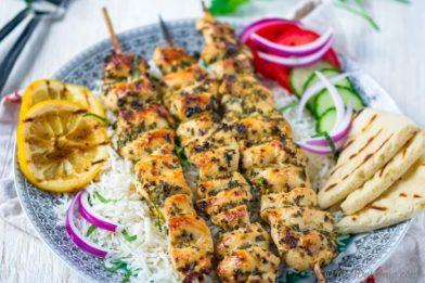 Delicioso 'churrasco' grego - Souvlaki