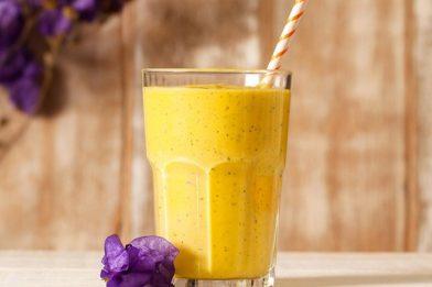 Shake de manga e laranja prático
