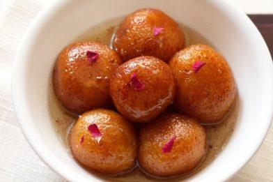 Bolinho indiano delicioso - Gulab jamun