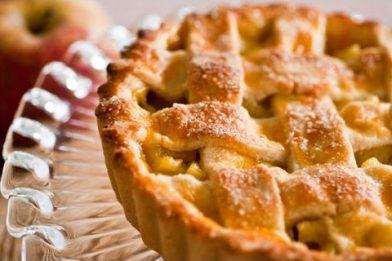 Simples receita de torta de maçã