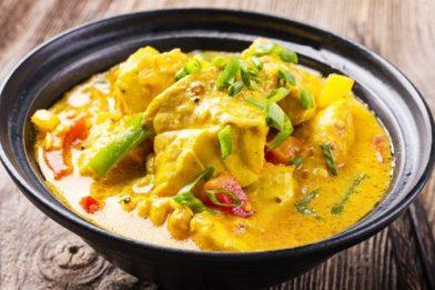 O melhor Curry de peixe