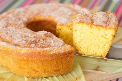 Simples bolo de milho de espiga