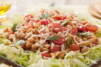 Salada de soja simples e deliciosa