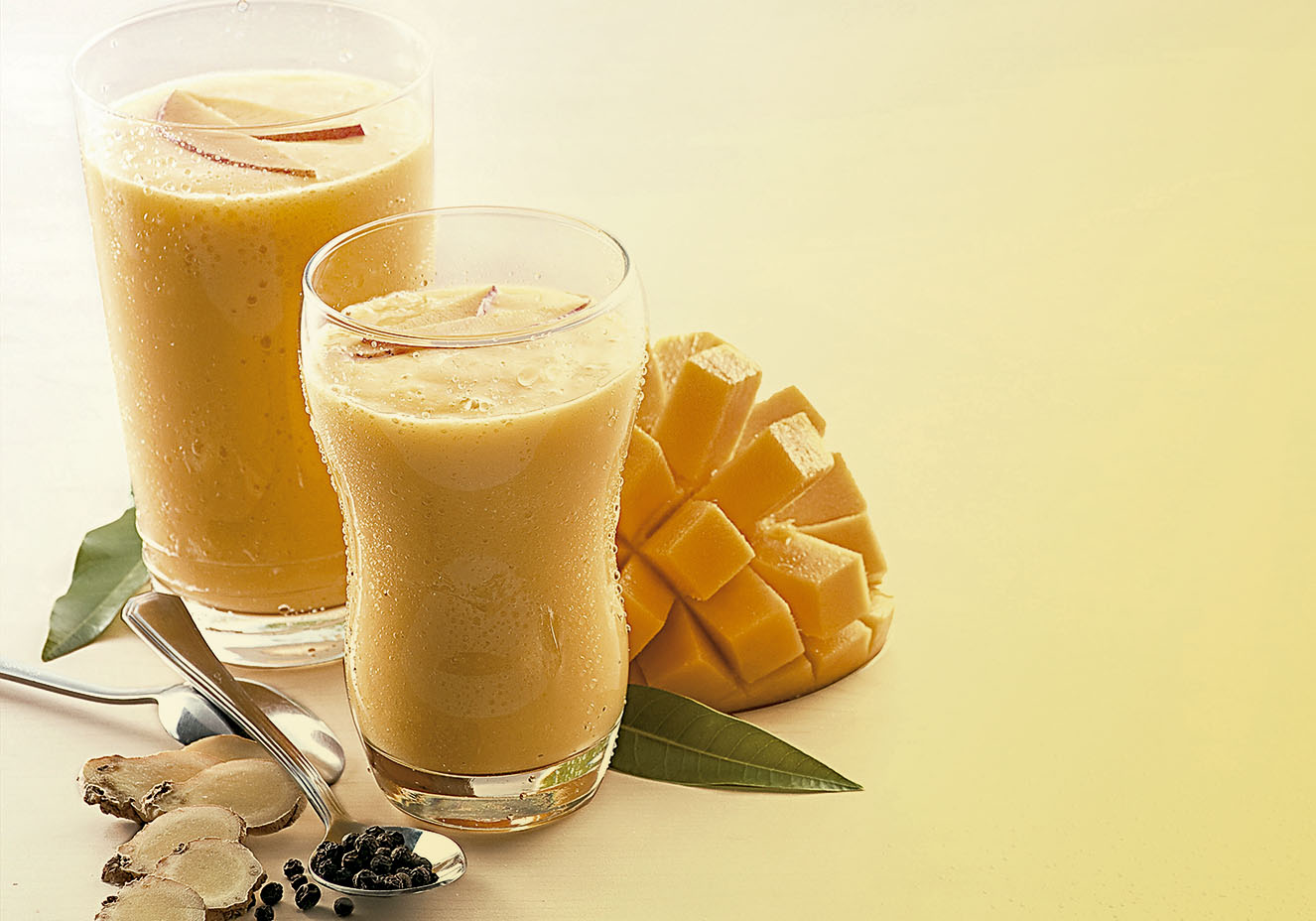 shake de manga e laranja