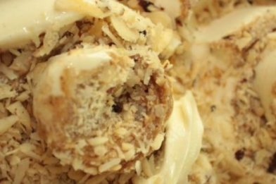 O melhor sorvete com tâmaras