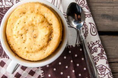 O melhor pão de queijo de caneca passo a passo