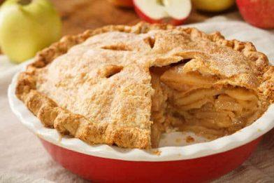 Passo a passo de torta de maçã prática