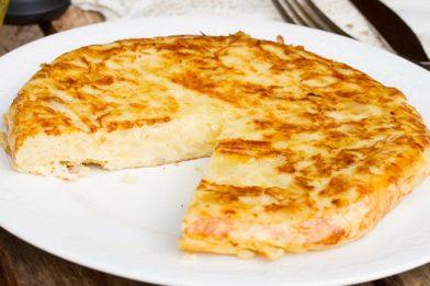 A melhor Tortilla de Patata espanhola