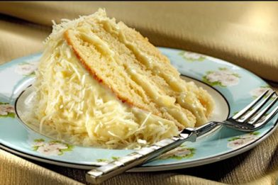 Receita de bolo com recheio de abacaxi