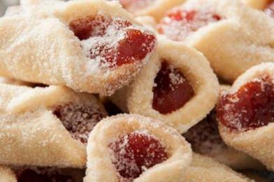 Receita de biscoito amanteigado com goiabada