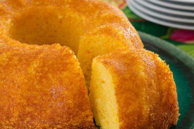 A melhor receita bolo de mandioca