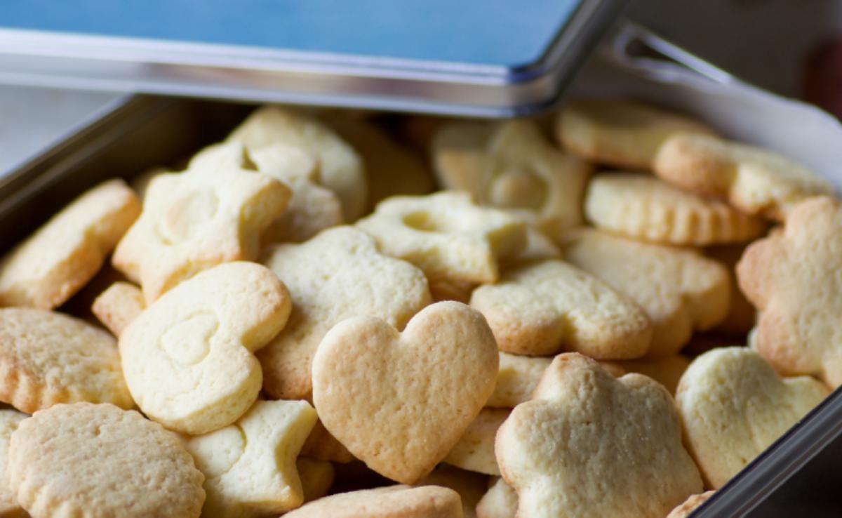 biscoito de maizena amanteigado