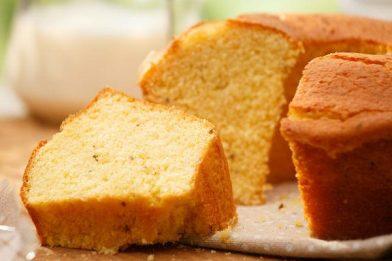 Bolo de trigo simples muito gostoso