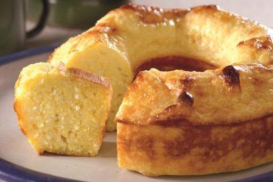 Simples receita de bolo de mandioca