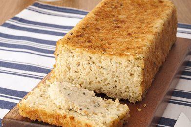 Massa simples de pão de fubá