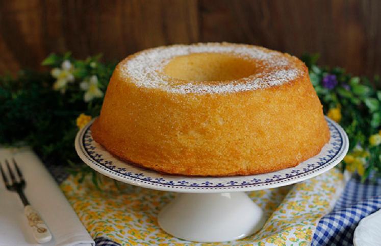 bolo branco fofinho