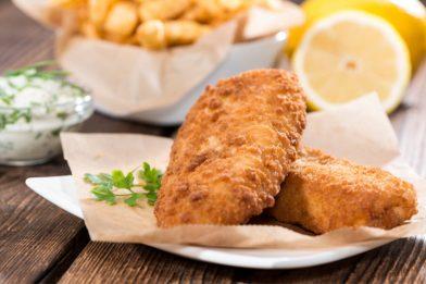 Receita suculenta de peixe a milanesa