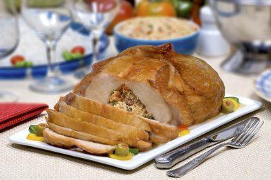 Receita de frango desossado recheado